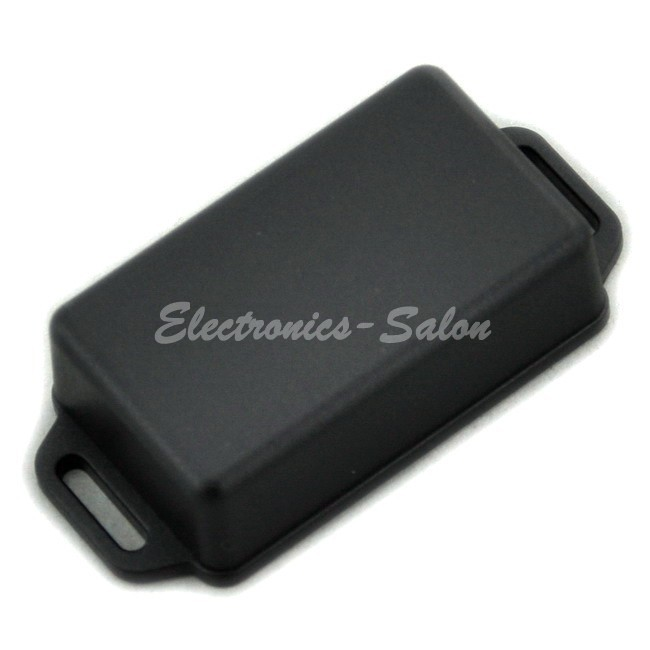 Small Wall-mounting Plastic Enclosure Box Case, Black,61x36x20mm, HIGH QUALITY.