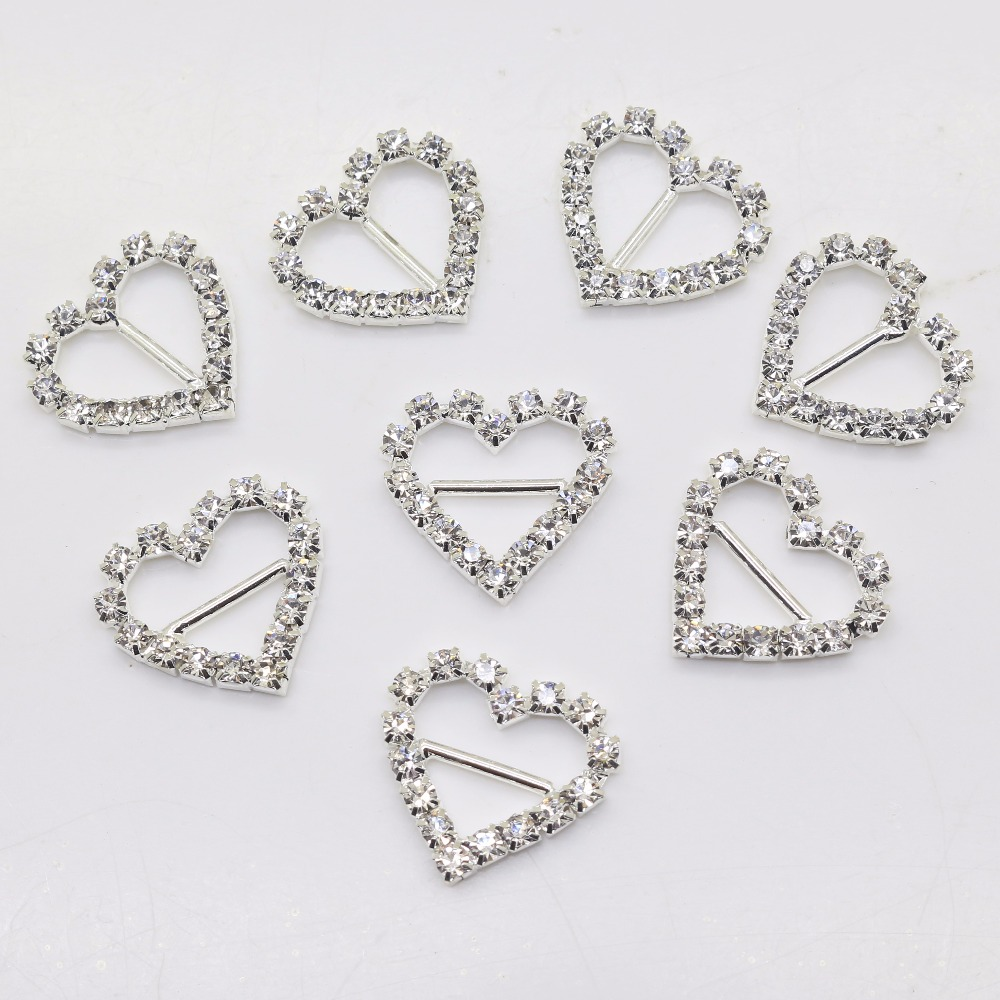 New Hot 10Pcs 20*21mm Heart Diy Jewelry Accessories Rhinestones Pedestal Phone Embellishments Caps Decoration For Making Ivory