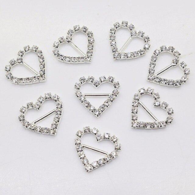 New Hot 10Pcs 20 21mm Heart Diy jewelry Accessories rhinestones pedestal  Phone embellishments caps Decoration 74cd3e604e56