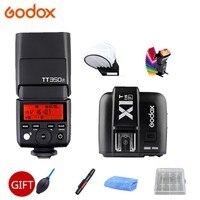 Godox Flash TT350 TT350F GN36 2,4 г TTL вспышка для камеры Speedlite для fuji плёнки камера s + X1T F триггер передатчик подарок