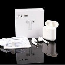 I10 tws i9s tws Беспроводная поддержка зарядки наушники беспроводные наушники Bluetooth 5,0 наушники с сенсорным управлением гарнитура