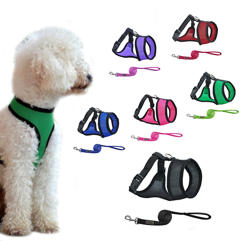 Diagram Hoomall Dog Harness Mesh Chest Dog Harness Nylon Outdoor