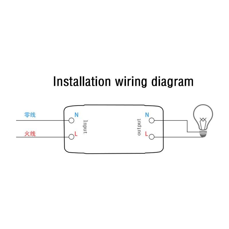 Igreli 3 pièces récepteur sans fil et trois boutons tactile télécommande bâton interrupteur pour lampe à LED AC 90-250 V & rf 433 MHZ - 6