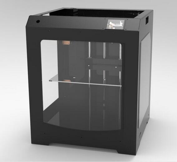 Desktop large size 3D printer, diy kit, whole machine, corexy wire rail, CNC laser engraving machine