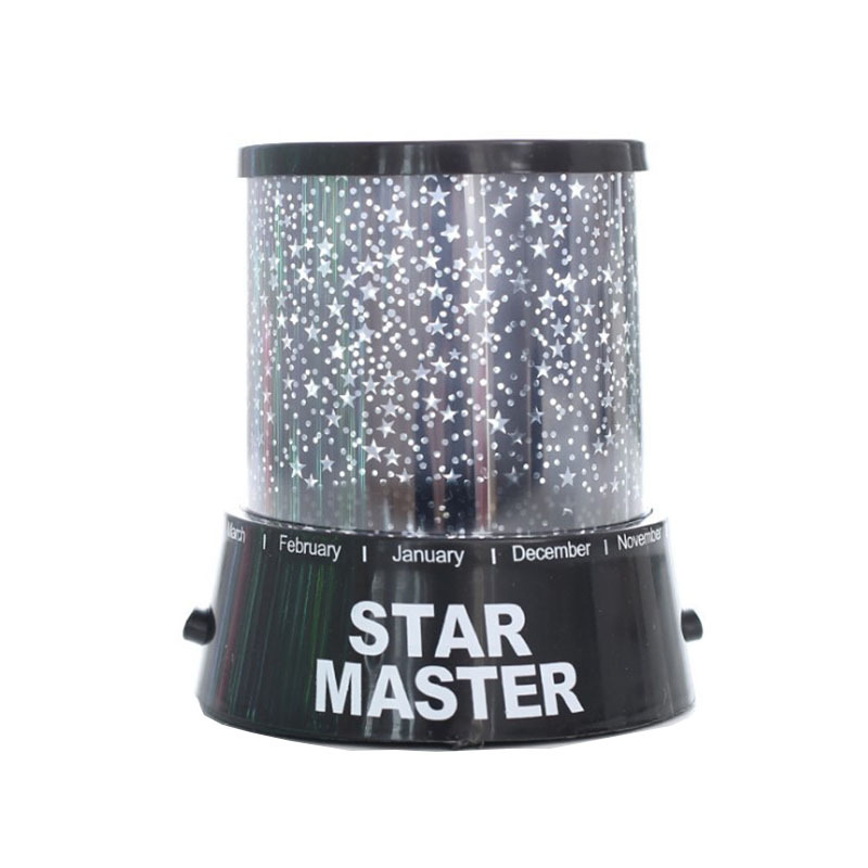 LED Night Light Projector Starry Sky Star moon Master Children Kids Baby Sleep Romantic colorful Led USB Projection lamp