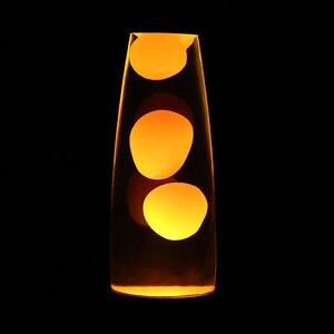 Image 2 - Hoomall 1 pc 터치 스위치 테이블 용암 램프 장식 야간 조명 침실 책상 야간 램프 사무실 홈 장식