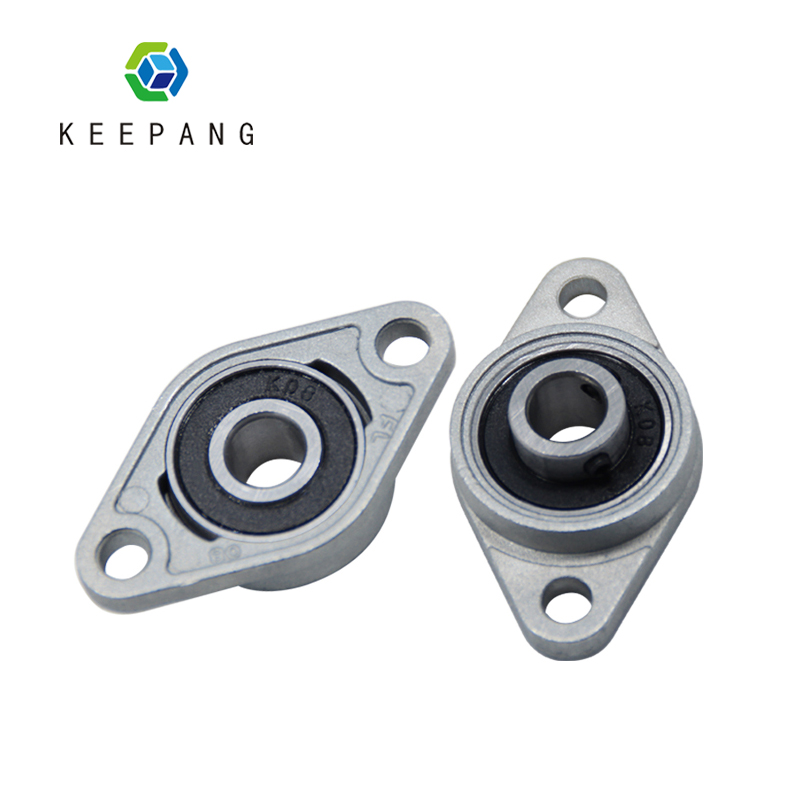 1pcs Horizontal Bearing Bracket For Trapezoidal T8 Lead Screw 3D Printers Parts Mounted Stand Part Stainless Steel Support