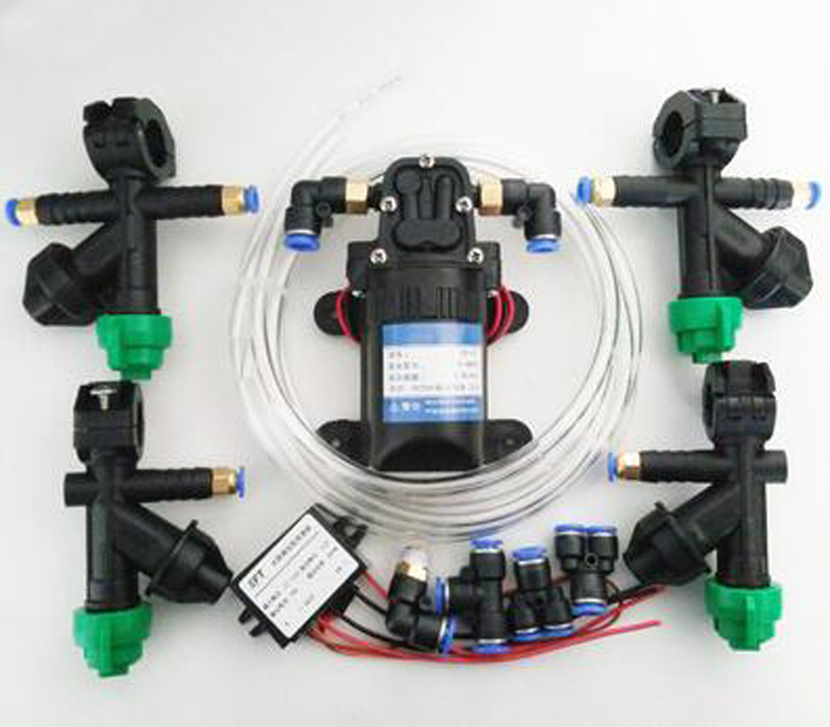Yuenhoang UAV Agricultural Plant Spraying System Parts Set Nozzle,Water pump,Buck module, Pump governor, Adapter, Water Pipes набор емкостей для специй season 3 шт quelle tescoma 1026468