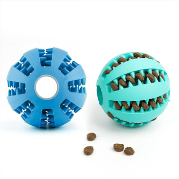 Dog Rubber Treat Ball