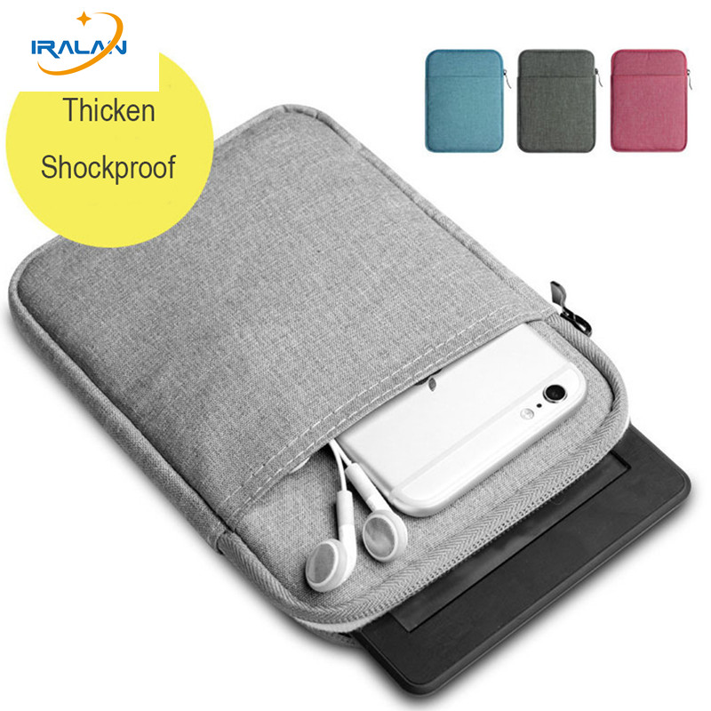 2017 hot 6 inch Sleeve ebook case bag for amazon Kindle Paperwhite 1 2 3 kindle 8th Generation 2016 Voyage 7th Gen Pocketbook ultra thin sleeve pouch case for amazon kindle 8th 2016 6 cover for kindle paperwhite bag for kindle voyage free shipping pen
