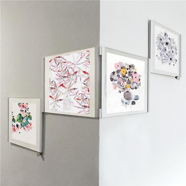 Aliexpress.com: Comprar DIY 3D blanco negro marco de fotos creativo ...