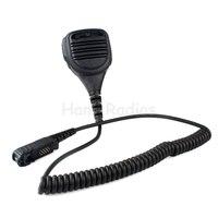 New Black PTT Handheld shoulder Waterproof Speaker MIC For Motorola Radio XPR3300 XPR3500 XIR P6620 XIR P6600 E8600 E8608