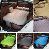 Comfortable Cars Trucks Rear Back Seat Cover Air Travel Auto Mattresses Inflatable Bed Cushion With Kids Protective Side
