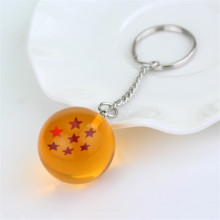 Dragon Ball Z Crystal Ball Stars Keychain