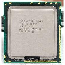 lntel Xeon X5680 processor intel X 5680 cpu intel xeon (3.333GHz/12MB/6 cores/Socket 1366/6.4 GT/s QPI) suitable X58 motherboard