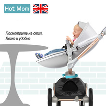 Baby Strollers can sit and lie baby stroller baby stroller can folding Baby stroller winter summer free shipping portableHot Mom