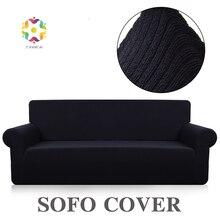 Fancai wiggle Stripe Sofa Covers For Living Room Sofo cover fabric kit sofaSofa Cover Towel Fabric Combination