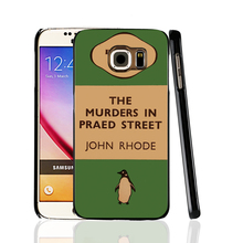 07154 penguin murders praed street cell phone protective case cover for Samsung Galaxy A3 A5 A7 A8 A9 2016