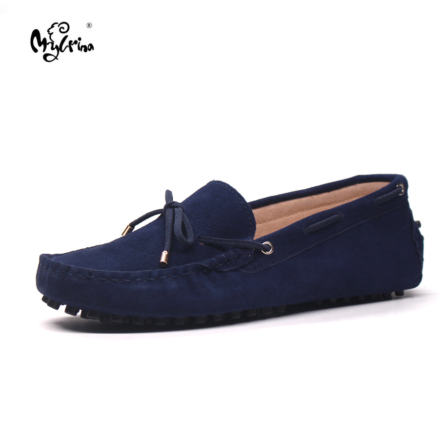 MYLRINA Shoes Men 100% Genuine Leather Men Flat Shoes Casual Loafers Slip On Men's Flats Shoes Moccasins Male Driving Shoes handmade genuine leather men s flats casual haap sun brand men loafers comfortable soft driving shoes slip on leather moccasins