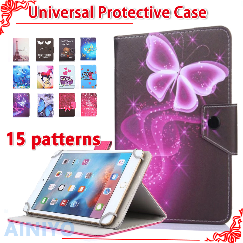 Universal Cover case Universal Cover for Digma Plane 8.6 3G/8501 3G/8.5 3G 8 inch Tablet Cartoon Printed PU Leather Case +3 gift universal protective pu leather case for 8 tablet pcs black