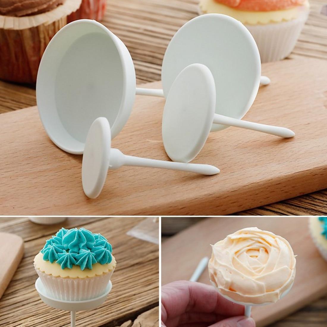 Flower Nail Cake: High Sale 4Pcs/Set Flower Needle Nail Baking Tools Cake