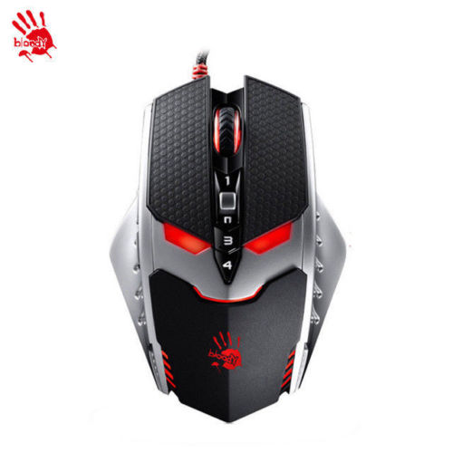 TL80 A4TECH Bloody PC Game 9 Bottons Laser Gaming USB Mouse Wired 8200 DPI Mice