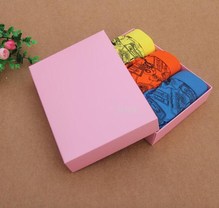 Alice, 19.5*14.5*4cm 6Colors Paper Kraft Box Gift Packing Boxes Packaging Storage Kraft Paper Boxes 100pcs/lot cardboard Box