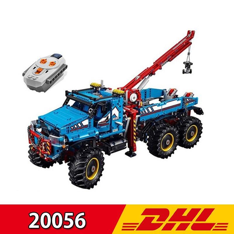 (En Stock) Lepining 20056 1912 pièces série Technic le jouet ultime de briques de construction de camion télécommandé tout Terrain 6X6