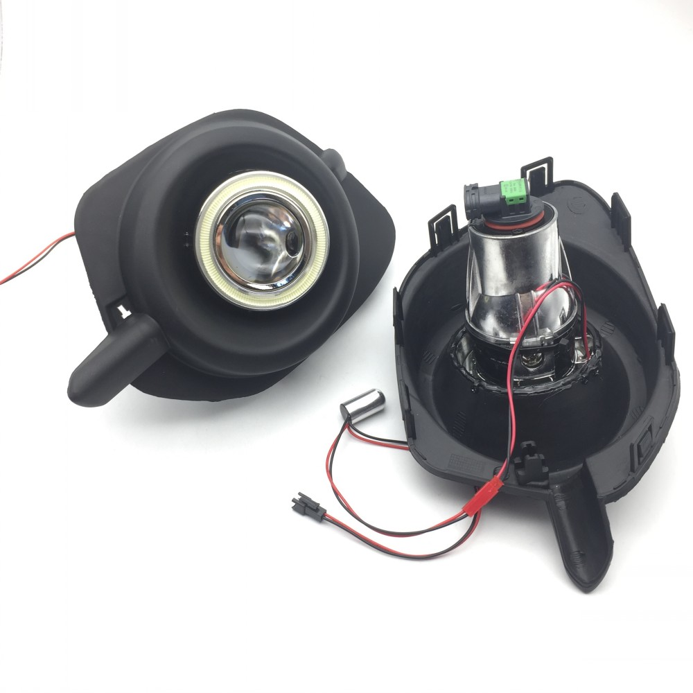 Për Mitsubishi Pajero Sport Nativa Montero LED Angel Eyes DRL Dritë - Dritat e makinave - Foto 2