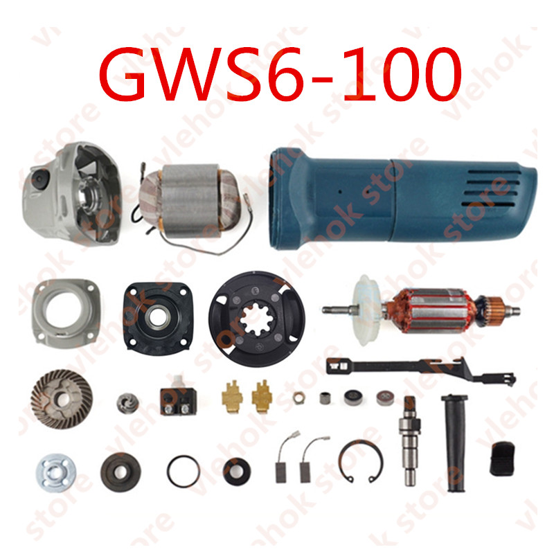Angle Grinder Replace For BOSCH GWS6-100 GWS 6-100 6 100 Power Tool Accessories Electric Tools Part