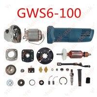 Moedor de ângulo substituto  para bosch GWS6-100 gws 6-100 6 100 acessórios de ferramentas elétricas peça