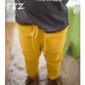 TBZ 2016 New Boys PP Pants Knitting Haroun Pants Boys Girls Printed Knitted Pants Baby Kids Toddlers Pants Cotton 3 Color Choses