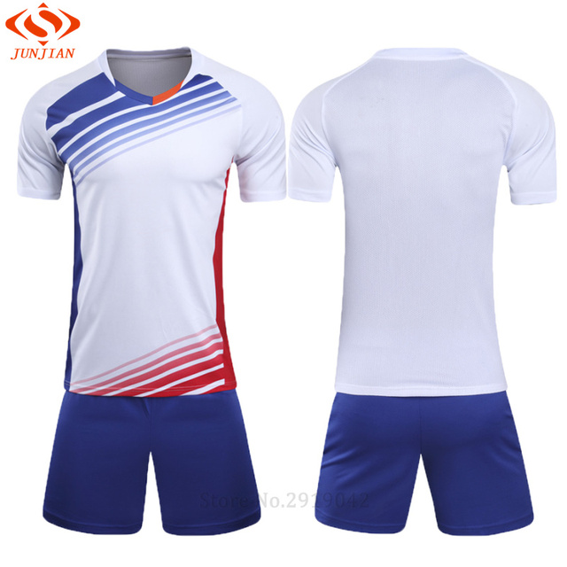 f66a549c9 Men Survetement Football Training Suit Soccer Jerseys Set Boys Soccer  Jersey Youth Set Kids Football Kits Maillot De Foot sets