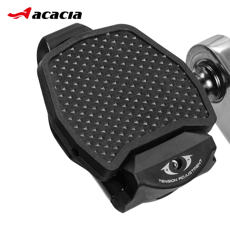 bde71f7ab64 ACACIA Road Bike Clipless Pedal Platform Adapter Convert For SHIMANO SPD  LOOK KEO