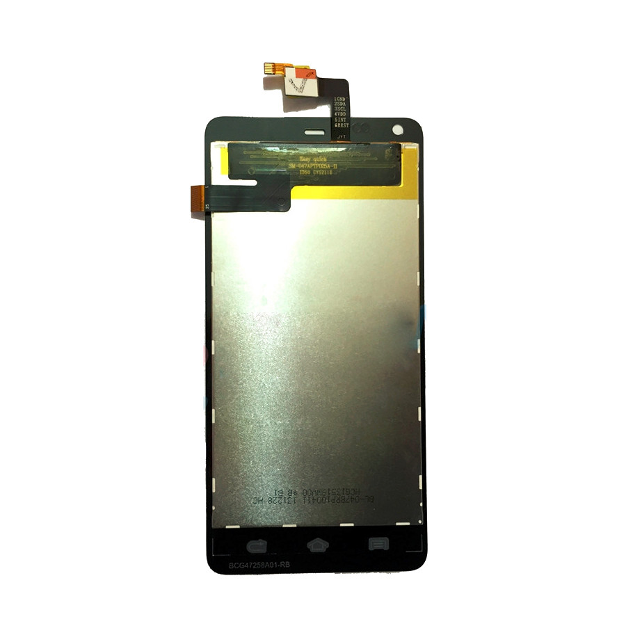 LCD Display Touch Screen Digitizer Assembly Replacement Accessories For THL T5 4.7 Inch Quad Core Cellphone+Repair Tools