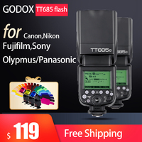 Godox TT685 TT685C TT685N TT685S TT685F TT685O Flash TTL Camera Flash Speedlite for Canon Nikon Sony Fuji Olympus Camera