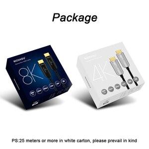 Image 5 - Оптоволоконные кабели 4K 8K HDMI 2,0 2.0b 2,1 48 Гбит/с, сверхвысокоскоростной HDR ARC HDCP 2,2 динамик, ТВ видео MOSHOU Fiber optique