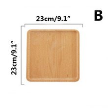 BBO+1 1pcs Square Dish Party Serving Wooden Dinner Plate  sc 1 st  AliExpress.com & Buy dinnerware square plates and get free shipping on AliExpress.com