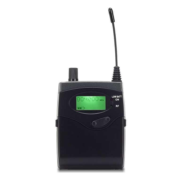 YUEPU RU-C5 Camera Wireless Interview Microphone Set Portable for Outdoor Recording Video Shooting DV Portable with ABS Suitcase
