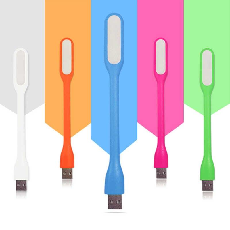Силикагель многоцветная мини-лампа для чтения книг USB СВЕТОДИОДНЫЙ светильник для компьютера лампа для ноутбука ПК Ночник для чтения