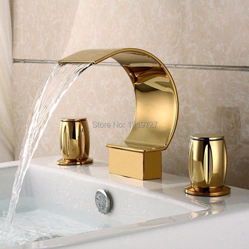 Faucets Bathroom Sink 3 Holes Promotion-Shop for Promotional ...