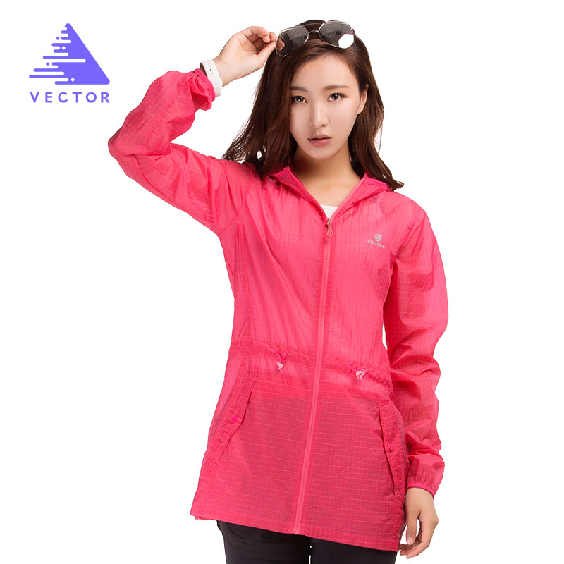 Waterproof Jacket Women Spring Summer Jacket Sun Protection Ultralight Outdoor Coat Sport Running Hiking 80010