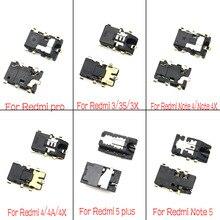 2 adet/grup kulaklık kulaklık jakı ses flex için Xiao mi kırmızı mi 3S 3X 4A 5 5A 6A not 2 3 4 4X5 5A 7 8 Pro K20 mi 9T