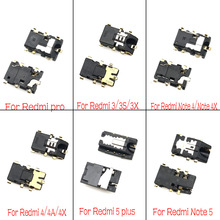 2pcs/lot Earphone Headphone Jack Audio flex For Xiaomi Redmi 3S 3X 4A 5 5A 6A Note 2 3 4 4X 5 5A 7 8 Pro K20 Mi 9T