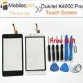 Oukitel K4000 Painel de Tela Sensível Ao Toque Pro 100% Original Substituição Digitador Touch Screen Display para Oukitel K4000 Pro Smartphones