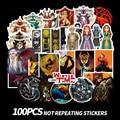 Наклейка «престолы» 100 шт., классический логотип, наклейка на ноутбук, велосипед, автомобиль, игрушка, водостойкая наклейка на чемодан, скейт...