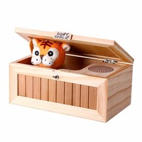 Don T Touch Cartoon Lovely Creative Tiger Useless Box Funny Box Toys For Children Reduction Desk