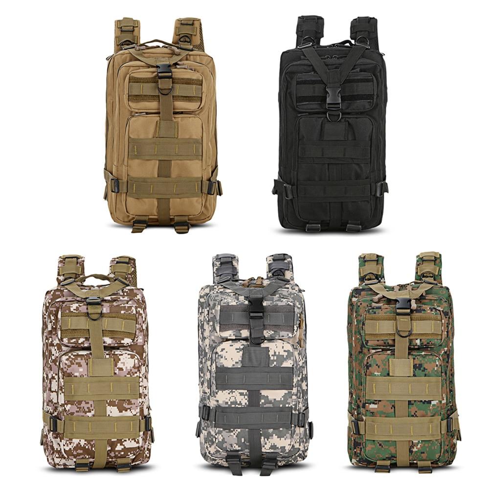 Sac tactique d'armée en plein air pochette d'ordinateur 25L sac à dos de voyage Molle Trekking Camping sac à dos militaire randonnée Trekking sac de Camouflage