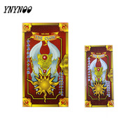Newest Cardcaptor Sakura 55 Hope Cards Captor Sakura Magic Cards Mahou Clow Anime Cards Cosplay Playing