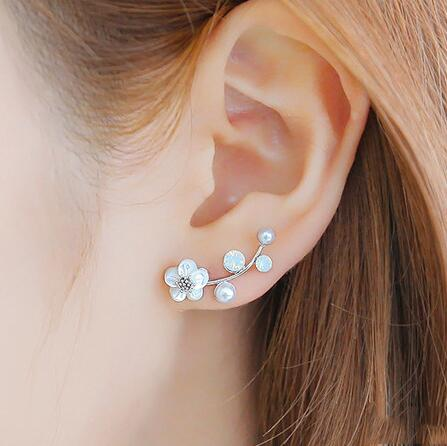 New Fashion Crystal Earrings Pearl s